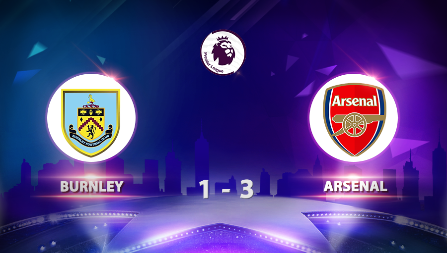 Burnley 1-3 Arsenal