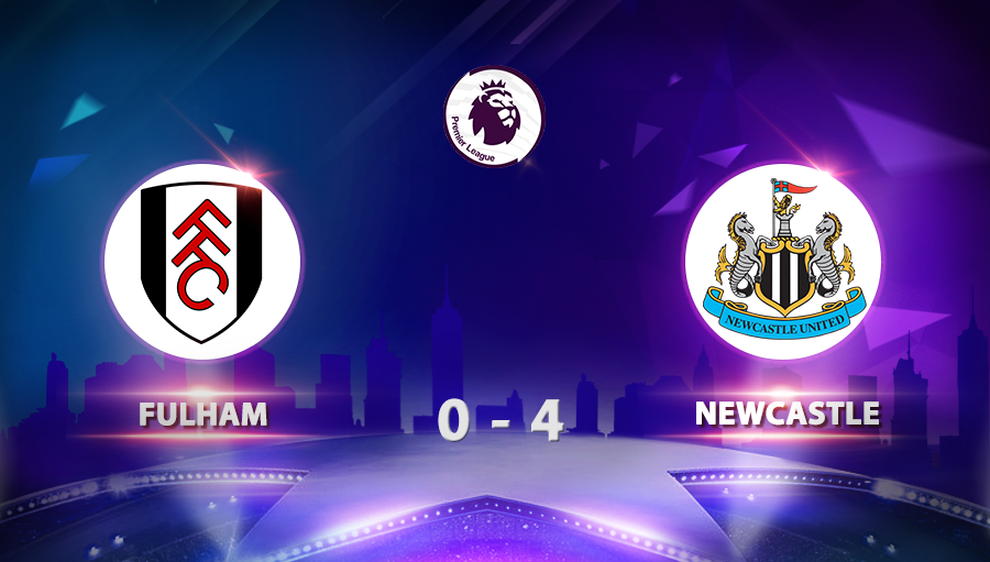 Fulham 0-4 Newcastle