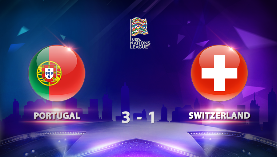 Portugal 3-1 Switzerland