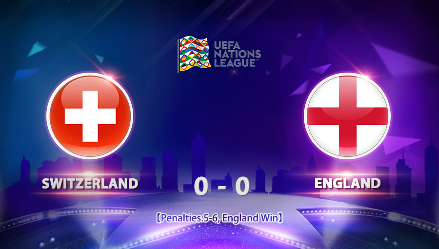 Switzerland 0-0 England