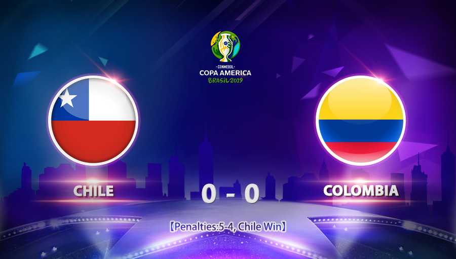 Chile 0-0 Colombia
