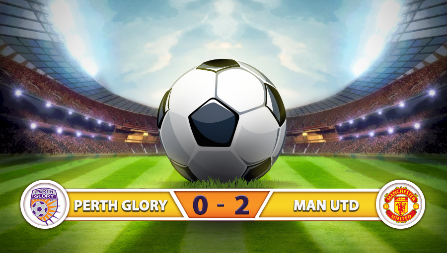Perth Glory 0-2 Manchester United