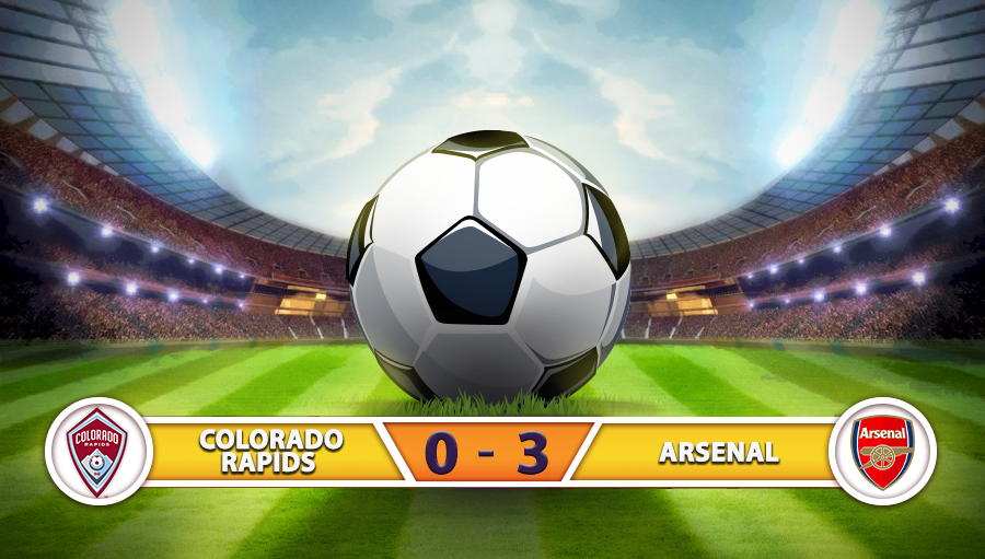 Colorado Rapids 0-3 Arsenal
