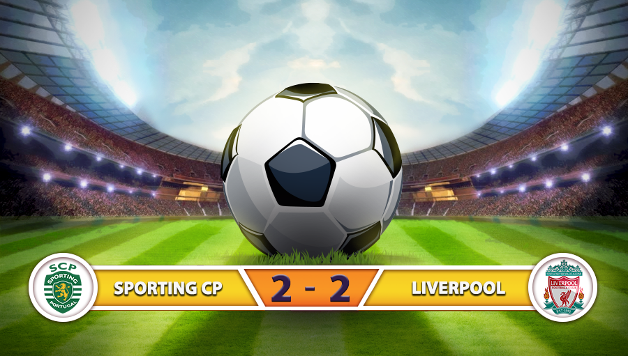 Sporting Cp 2-2 Liverpool
