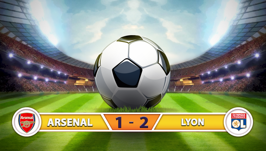 Arsenal 1-2 Lyon