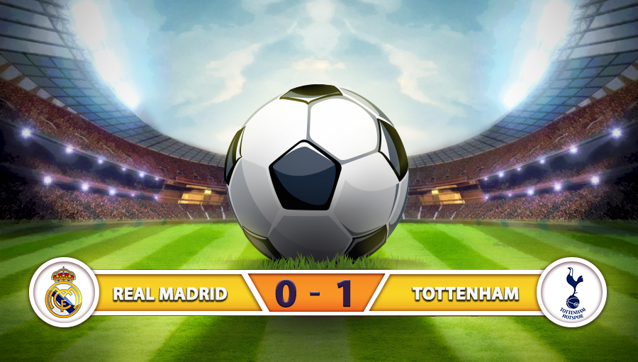 Real Madrid 0-1 Tottenham