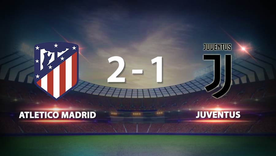 Atletico Madrid 2-1 Juventus