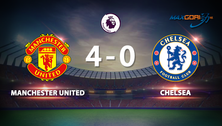 Manchester United 4-0 Chelsea