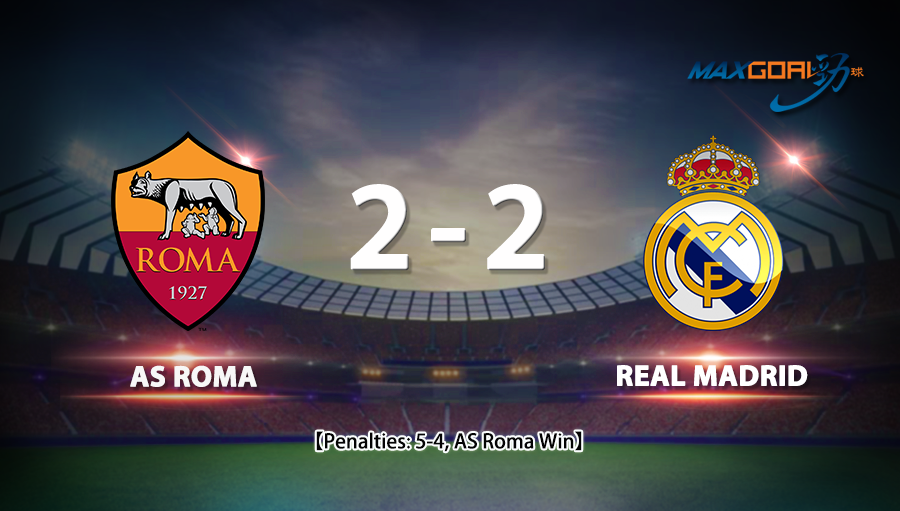 Roma 2-2 Real Madrid