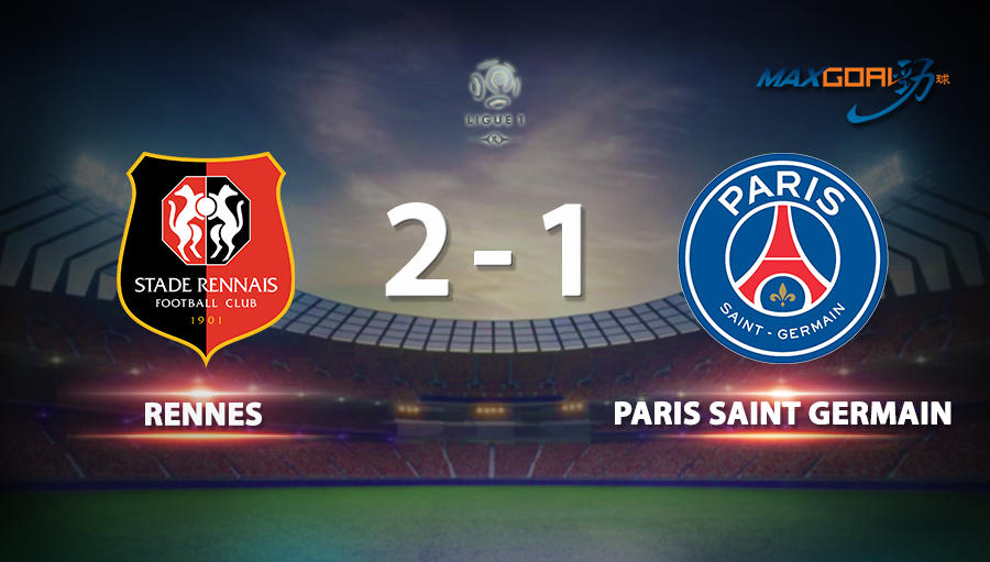 Rennes 2-1 Paris Saint Germain