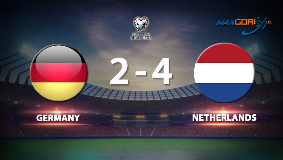 Germany 2-4 Netherlands
