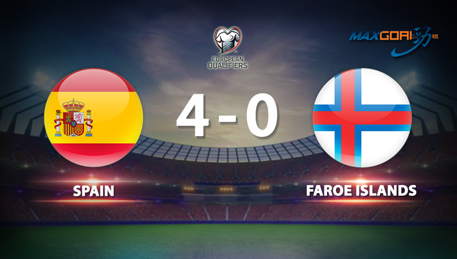 Spain 4-0 Faroe Islands