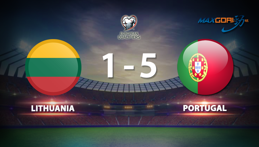 Lithuania 1-5 Portugal
