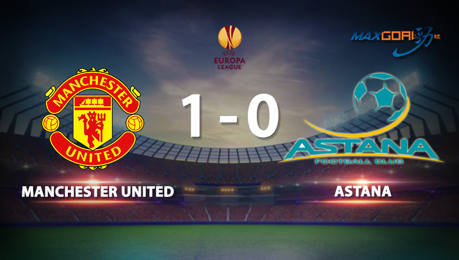 Manchester United 1-0 Astana