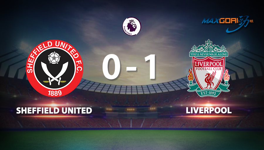 Sheffield United 0-1 Liverpool