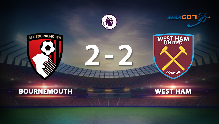 Bournemouth 2-2 West Ham