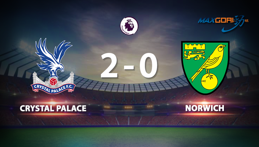 Crystal Palace 2-0 Norwich