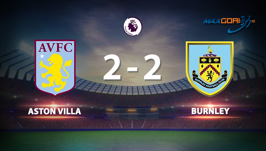Aston Villa 2-2 Burnley