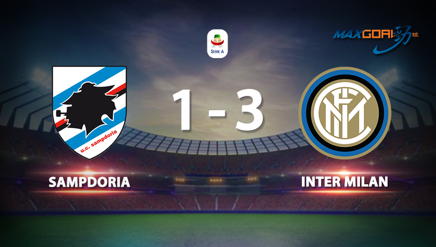 Sampdoria 1-3 Inter Milan