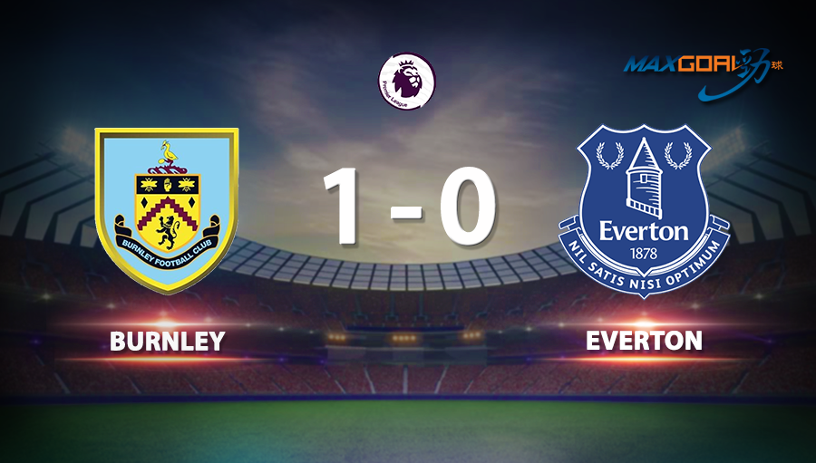 Burnley 1-0 Everton