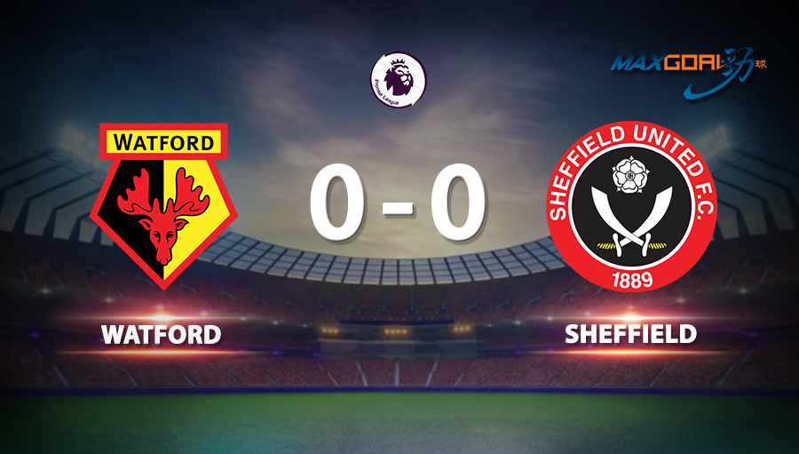 Watford 0-0 Sheffield United