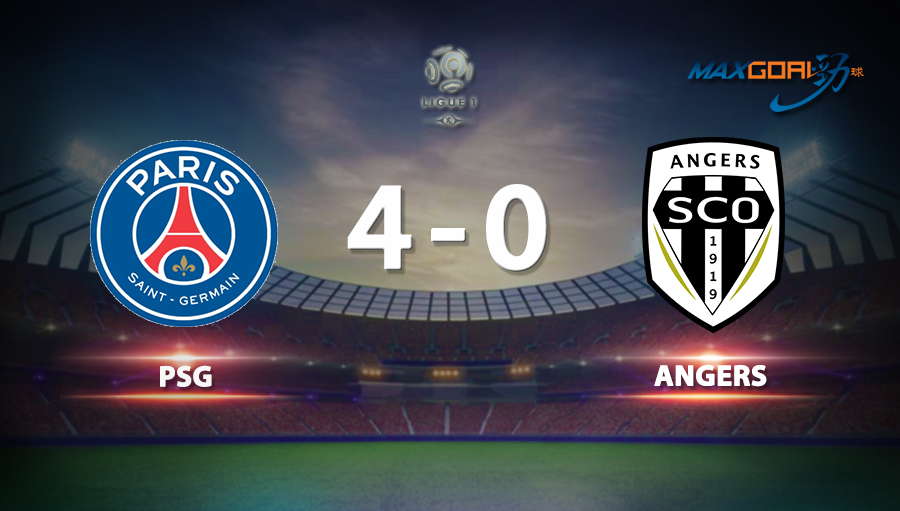 PSG 4-0 Angers