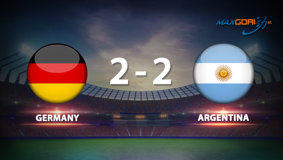 Germany 2-2 Argentina