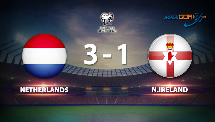 Netherlands 3-1 Northern Ireland