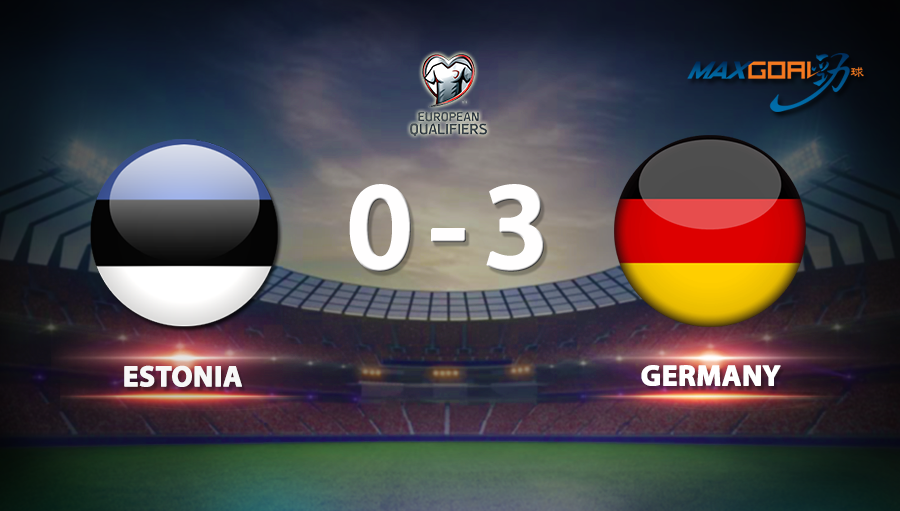 Estonia 0-3 Germany