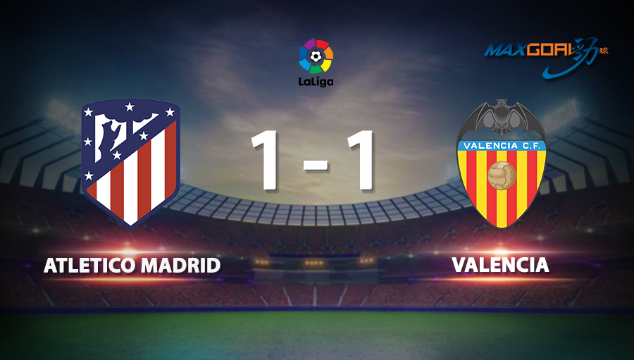 Atletico Madrid 1-1 Valencia