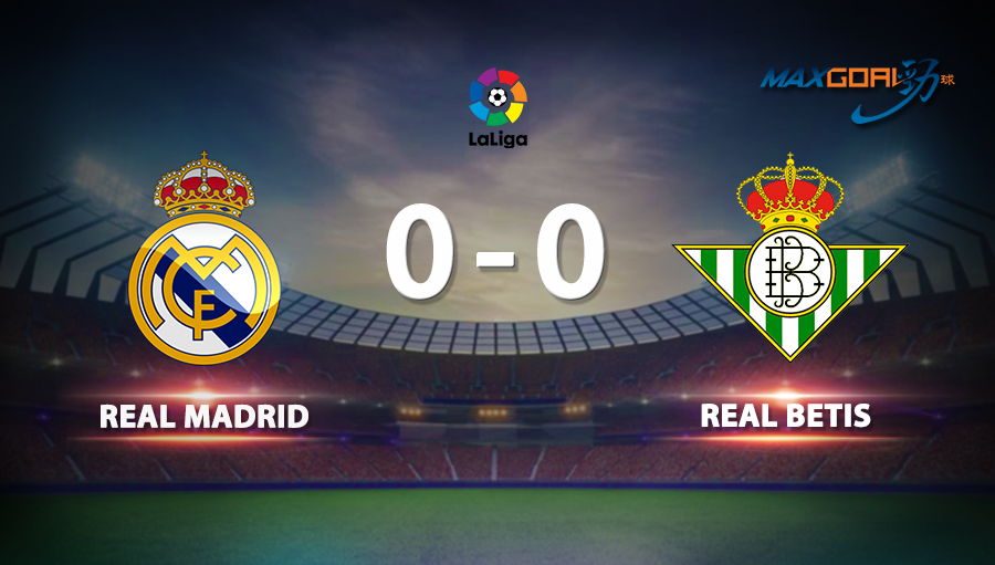 Real Madrid 0-0 Real Betis