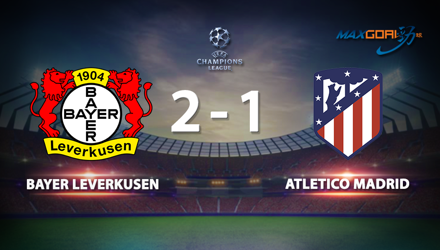 Bayer Leverkusen 2-1 Atletico Madrid