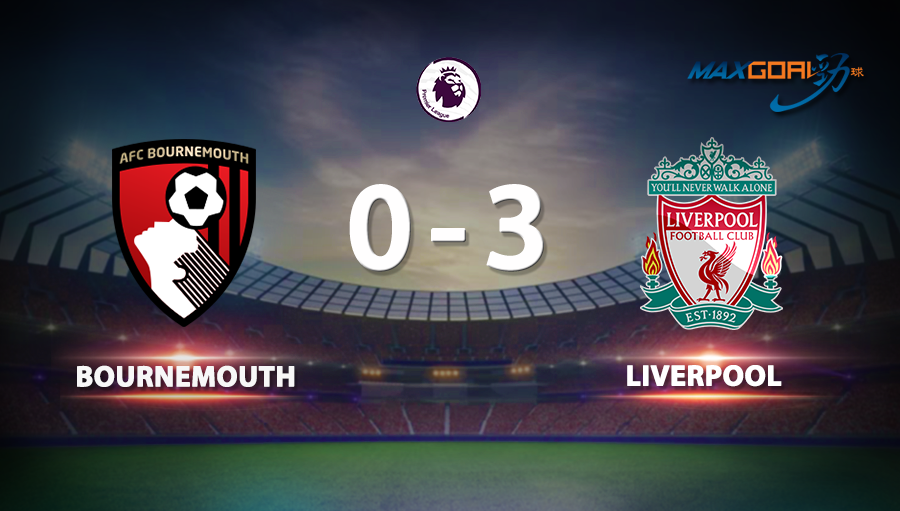 Bournemouth 0-3 Liverpool