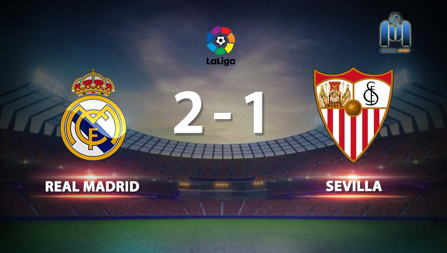 Real Madrid 2-1 Sevilla