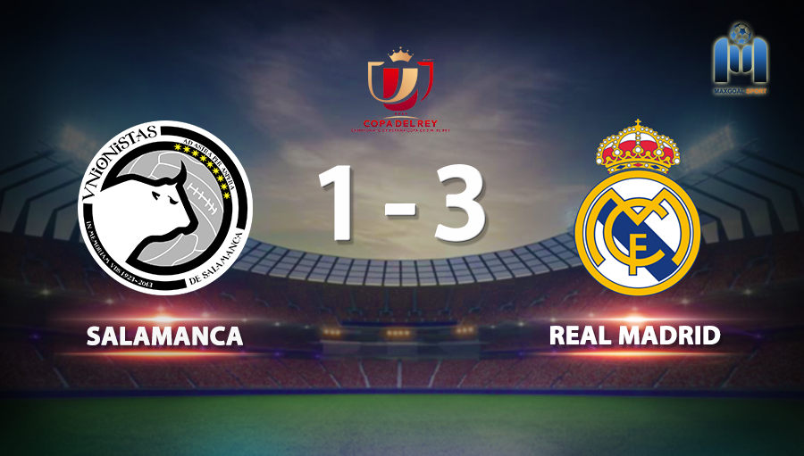 Salamanca 1-3 Real Madrid