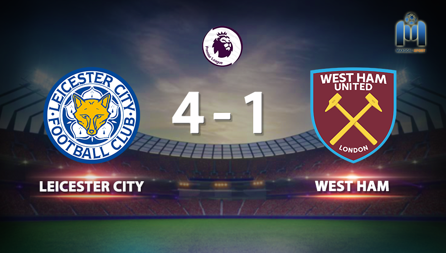 Leicester City 4-1 West Ham