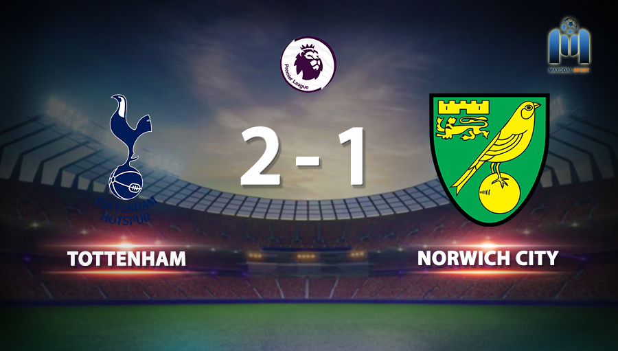 Tottenham 2-1 Norwich City