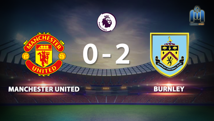 Manchester United 0-2 Burnley