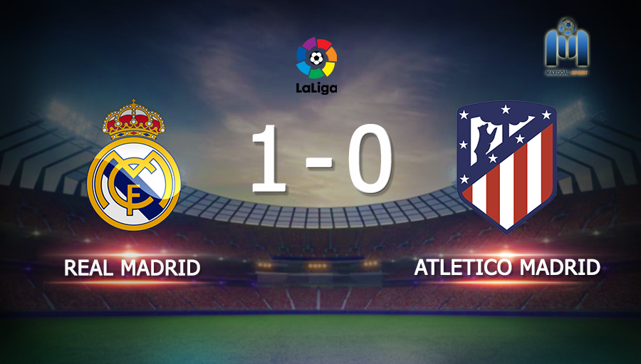 Real Madrid 1-0 Atletico Madrid