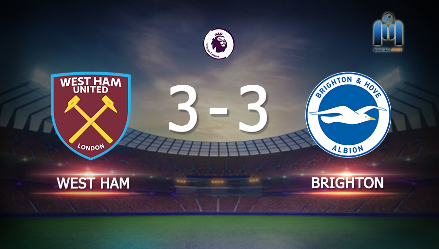 West Ham 3-3 Brighton