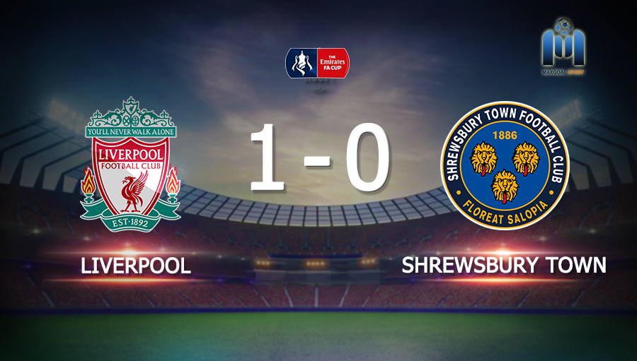 Liverpool 1-0 Shrewsbury Town