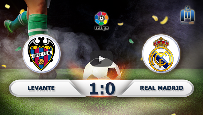 Levante 1-0 Real Madrid