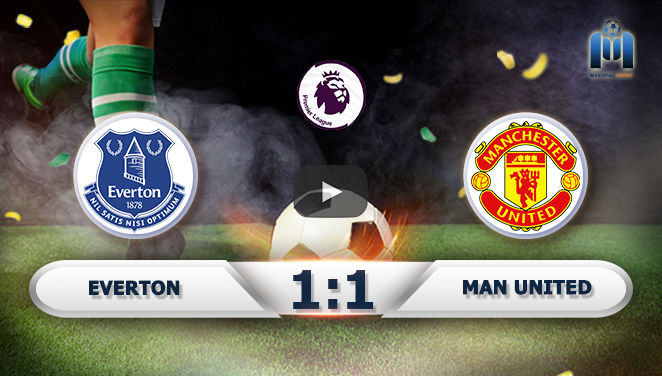 Everton 1-1 Manchester United