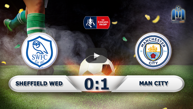 Sheffield Wednesday 0-1 Manchester City