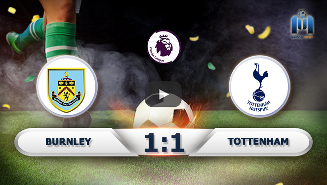 Burnley 1-1 Tottenham
