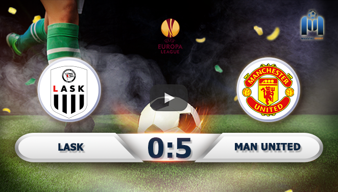 Lask 0-5 Manchester United