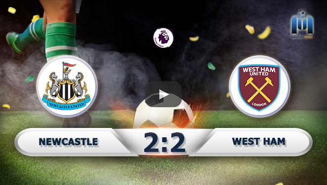 Newcastle 2-2 West Ham