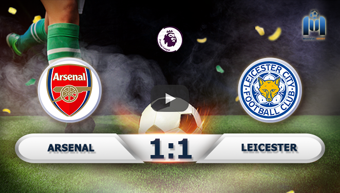 Arsenal 1-1 Leicester