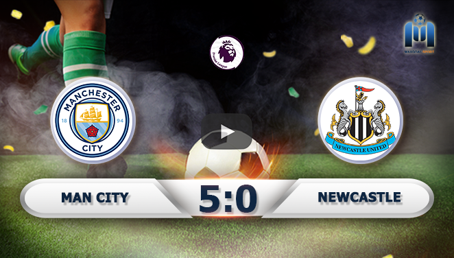 Manchester City 5-0 Newcastle