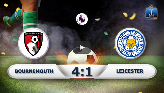 Bournemouth 4-1 Leicester